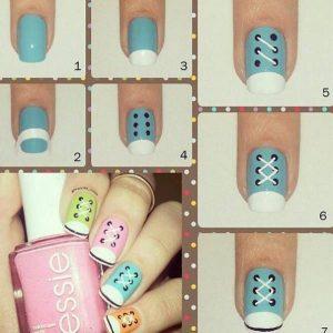 дизайн ногтей для начинающих пошагово 3
