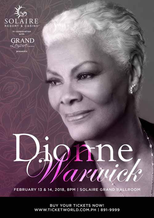 Dionne Warwick in the Philippines 2018