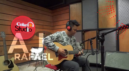Fil-Am singer AJ Rafael Coke Studio Philippines.