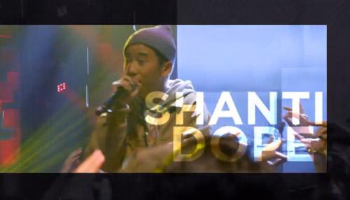 Rapper Shanti Dope for Coke Studio Philippines