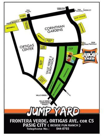 Jump Yard - map