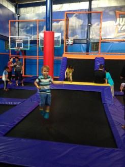Jump Yard wall trampolines