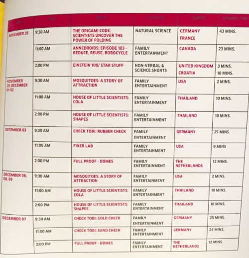 Schedule Museo Pambata