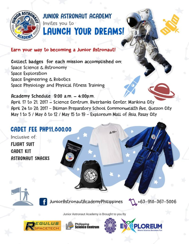 Summer Junior Astronaut Academy