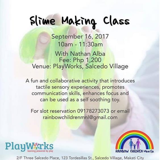 Slime Making class