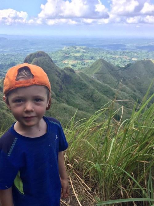 Hiking with Kids Mount Batulao