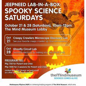 Spooky Science Saturdays