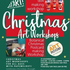 Christmas Art Workshops
