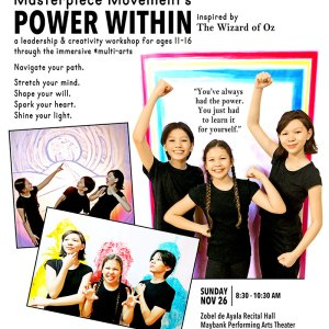 Power Within – a leadership & creativity workshop