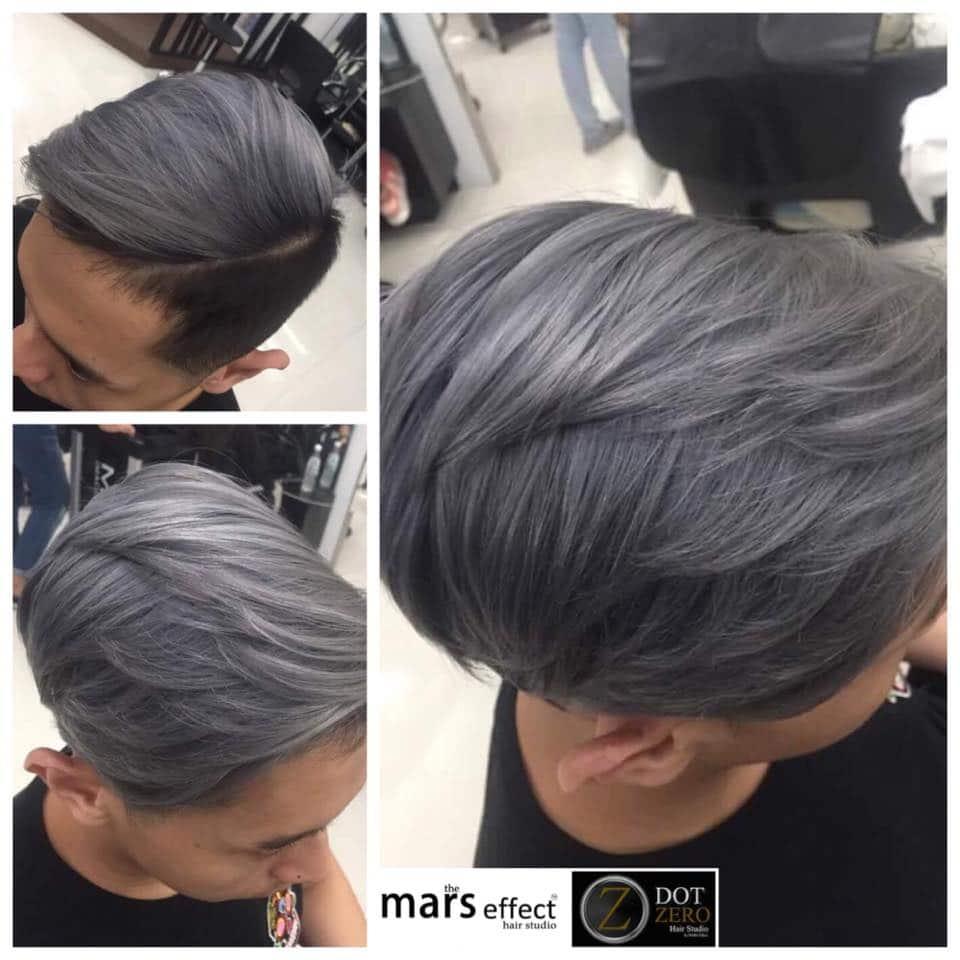 men's ash gray