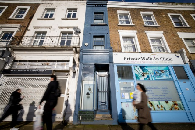 For sale: London's thinnest house