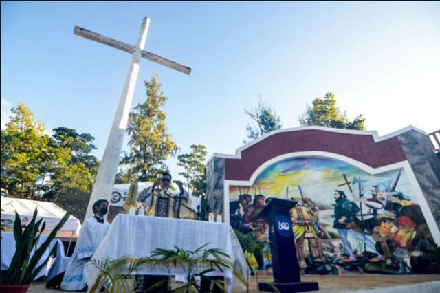 Guiuan marks 500 years of Cross arrival