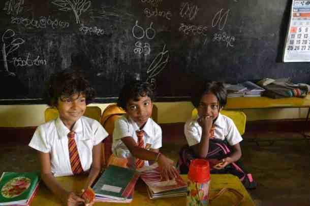 School teaching in Plantation Villa Resort in Kalutara-Sri Lanka. maninio.com #resortsrilanka #villaresort