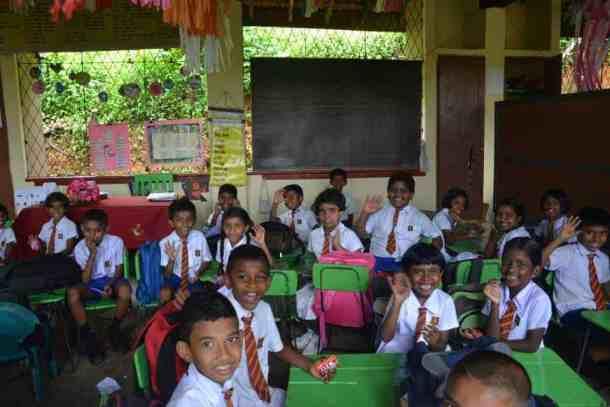 School class Plantation Villa Resort in Kalutara-Sri Lanka. maninio.com #resortsrilanka #villaresort