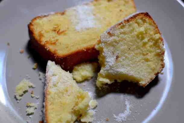 Lemon cake with Greek yogurt - Vegetarian