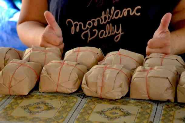 Rice packaging - #volunteerinasia #volunteerincambodia maninio.com