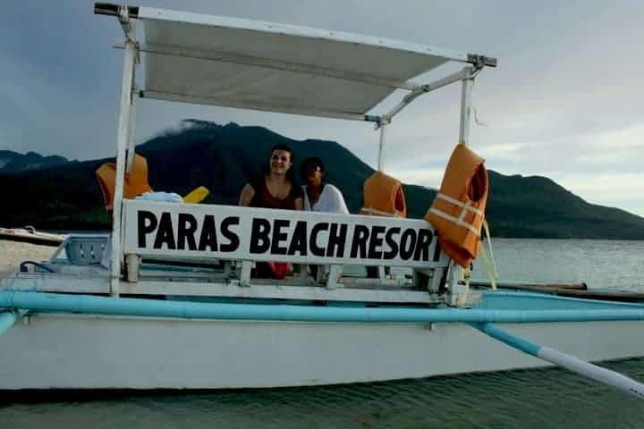 Camiguin Island paras beach resort, Philippines. maninio.com #tourismphilippines #visitcamiguin