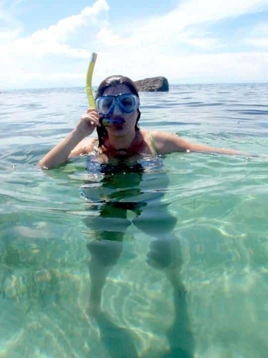 Snorkelling on the sea Initao beach, Cebu, Iligan city - Philippines #snorkellinginthesea #Philippinesasia | maninio.com