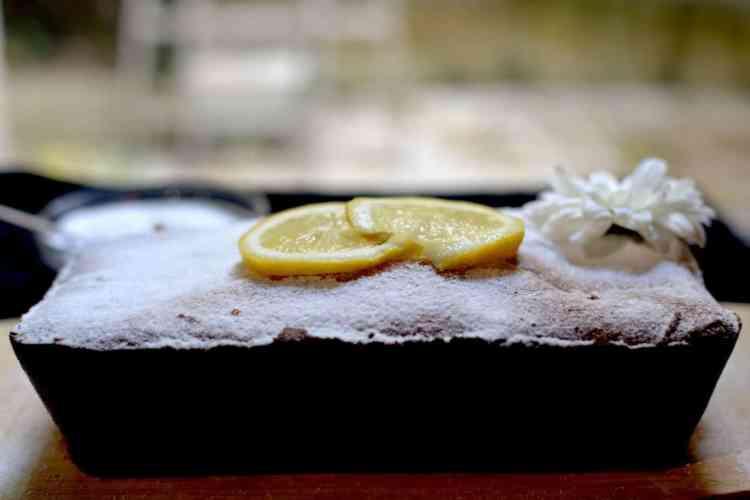 Lemon cake with Greek yogurt - Vegetarian