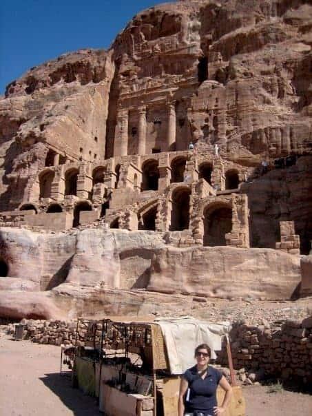 petra - tombs
