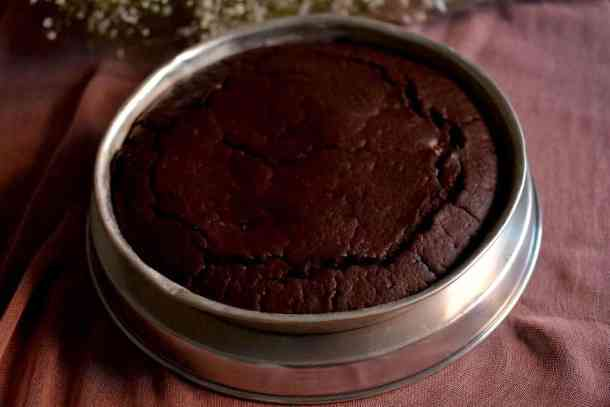 Chocolate Cake is ready, Vegan