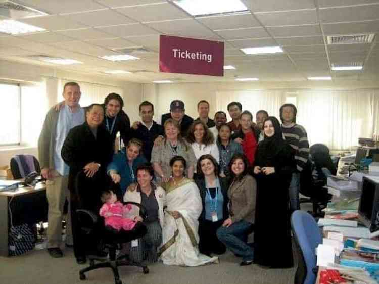 Qatar back 2006 - ticketing department #Qatardohagames #asiangame2016 |maninio.com
