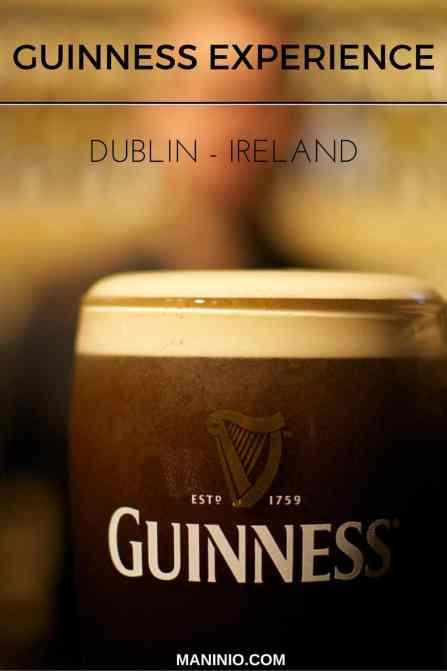 Guiness - Experience - www.maninio.com - Ireland