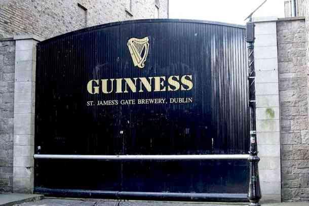 Guinness Experience main door. maninio.com #guinnessexperience #guinnessireland