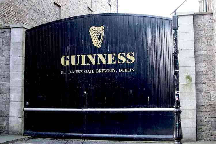 Guinness Experience main door. maninio.com #guinnessexperience #guinnessireland
