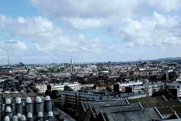 Guinness Experience roof view to Dublin. maninio.com #guinnessexperience #guinnessireland