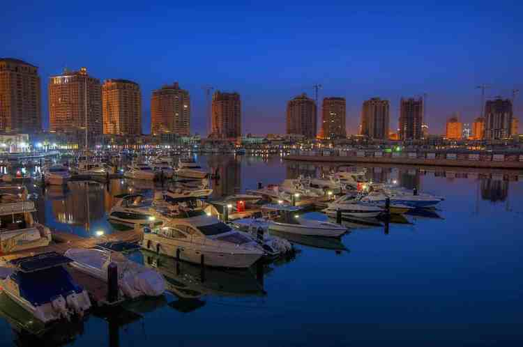 Pearl in Qatar maninio.com #constructiondoha #pearlqatar
