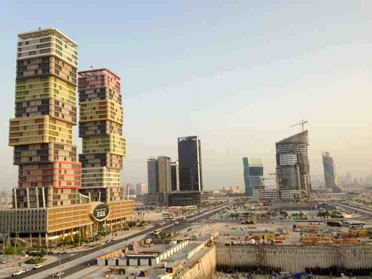 Lusail city Qatar maninio.com #constructiondoha #lusailqatar