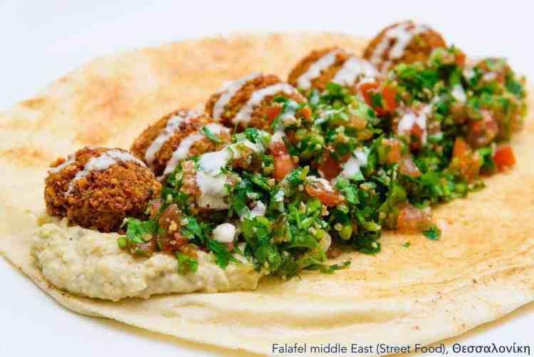 7 Vegan Delivery   Εστιατόρια, Θεσσαλονίκη Falafel middle east #veganrestaurants #greekvegan maninio.com