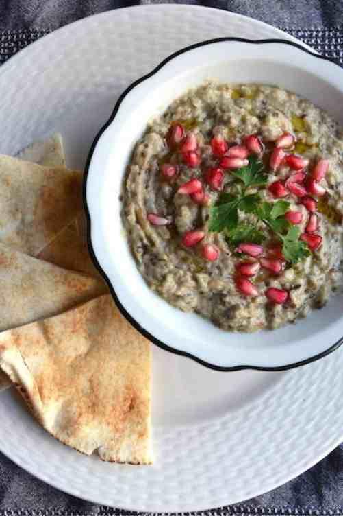 The original Arabic Moutabal (Baba Ganoush) | Middle East - Vegan. maninio.com