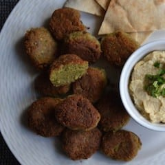 The best Original Falafel with Chickpeas - Middle East