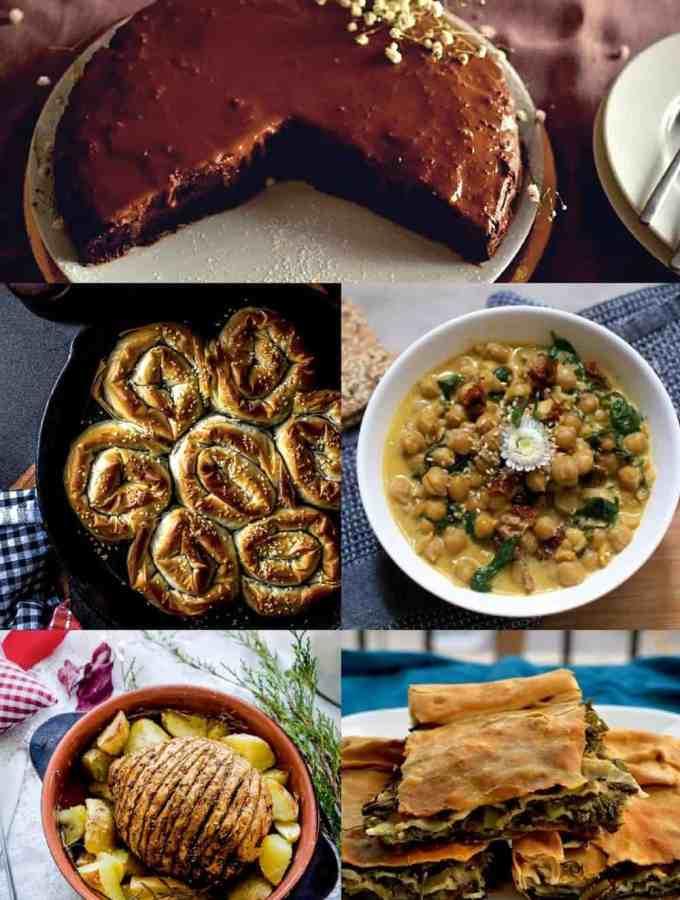 Best 20+ Christmas Menu Ideas   Lunch and Dinner   Vegan. salads, main dish, appetisers, desserts. maninio.com