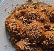 Vegan Μελομακάρονα   Με ζάχαρη καρύδας και Αγαύη.maninio.com