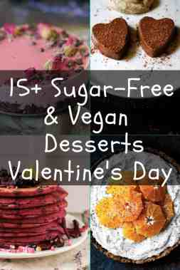 15 Sugar-free and Vegan desserts for Valentines maninio.com