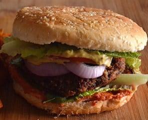 Αφράτο Burger Μανιταριών και Φασόλια | Vegan και Νηστίσιμο. maninio.com