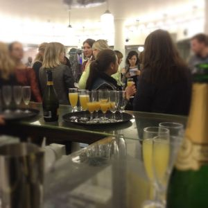 Champagne and Chatter Tommy Guns Regent Street Launch