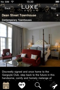 Why waste time reading endless paras of blah, if it's in LUXE, it's IN & now ON the New London App