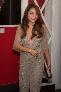 Spice Girl Vanessa Hudgens Ditches Mayfair for a Curry in Mitcham at Chak89