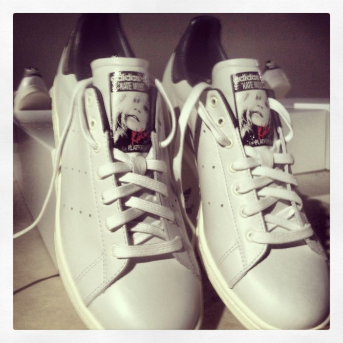 Kate Moss limited edition Stan Smith trainers