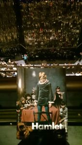 Hamlet at Barbican with Benedict Cumberbatch
