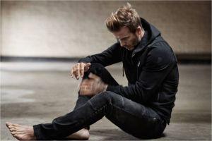 David Beckham by John Balsom for MRPORTER COM