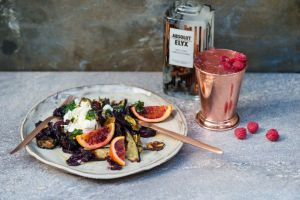 Anna Barnetts Absolut Elyx Supper Club menu in support of Water for People