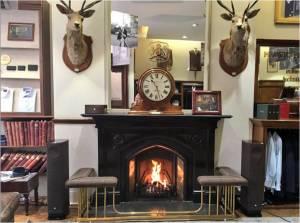 Fireside companions - Linn Series 5 in Harris Tweed at Huntsman Savile Row