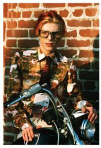 From Bowie by Steve Schapiro, published by powerHouse Books biker