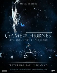 Game of Thrones Live Concert Coming to the UK!