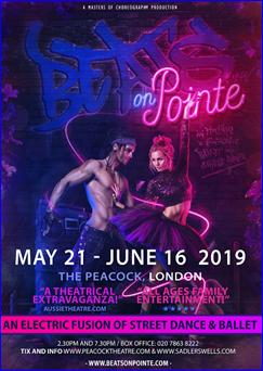 beats on pointe poster